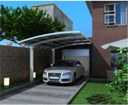 Single Curved Carport