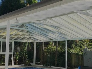 Transparent Clear Roofing Solutions For Indoors and Outdoors